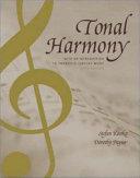 Tonal Harmony  with an Introduction to Twentieth century Music PDF