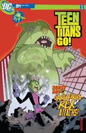 Teen Titans Go! (2003-) #21