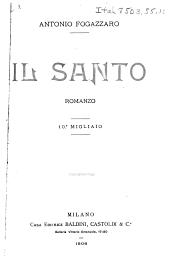 Il santo: romanzo
