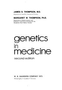 Genetics in Medicine PDF