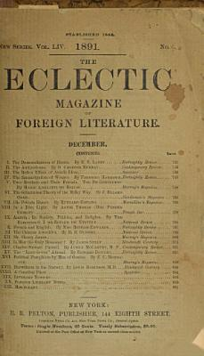 The Eclectic Magazine of Foreign Literature  Science  and Art PDF