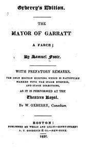 The Mayor of Garratt: A Farce