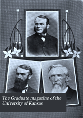 The Graduate Magazine of the University of Kansas: Volume 10