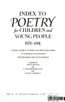 Index to Poetry for Children and Young People PDF