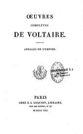 Oeuvres complètes de Voltaire: Volume28