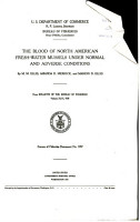 The Blood of North American Fresh water Mussels Under Normal and Adverse Conditions PDF