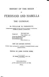 History Of The Reign Of Ferdinand And Isabella The Catholic Book PDF