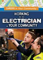 Working as an Electrician in Your Community PDF