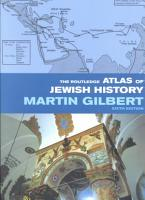 The Routledge Atlas of Jewish History PDF