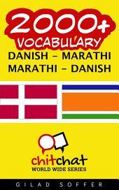 2000+ Danish - Marathi Marathi - Danish Vocabulary