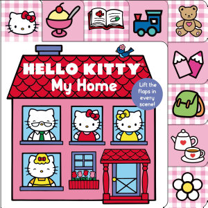 Hello Kitty  My Home Lift the Flap Tab