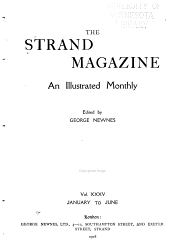 The Strand Magazine: Volume 35