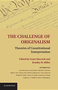 The Challenge of Originalism PDF