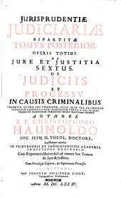 De jure et justitia commutativa: Jurisprudentiae judiciariae
