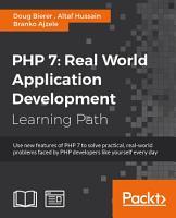 PHP 7  Real World Application Development PDF