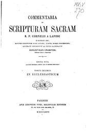 Commentaria in Scripturam Sacram R.P. Cornelii a Lapide ...