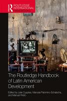 The Routledge Handbook of Latin American Development PDF