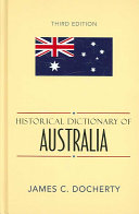 Historical Dictionary of Australia PDF