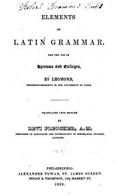 Elements of Latin Grammar