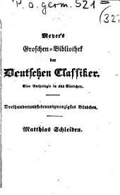 Matthias Schleiden: mit Biographie und Portrait