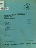 Sensitivity of Coastal Environments to Spilled Oil  Southern California PDF