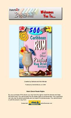 500 Caribbean Rum Recipes PDF