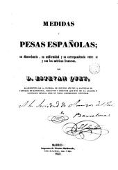 Medidas y pesas españolas