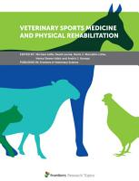 Veterinary Sports Medicine and Physical Rehabilitation PDF