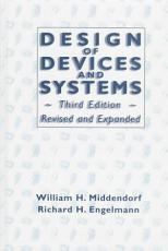 Design of Devices and Systems  Third Edition  PDF