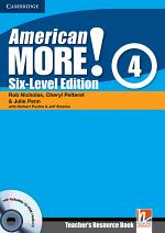American More! Six-Level Edition Level 4 Teacher's Resource Book with Testbuilder CD-ROM/Audio CD