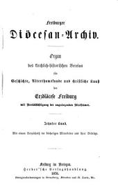 Freiburger Diözesan-Archiv: Bände 10-12