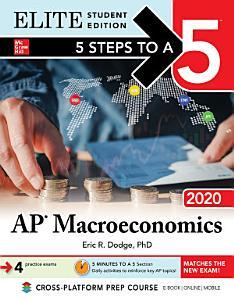 5 Steps to a 5  AP Macroeconomics 2020 Elite Student Edition Book