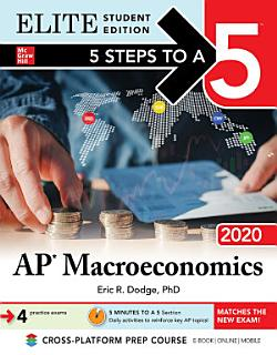 5 Steps to a 5  AP Macroeconomics 2020 Elite Student Edition Book