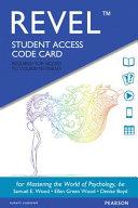 Mastering the World of Psychology Revel Access Code PDF