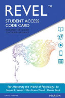 Mastering the World of Psychology Revel Access Code