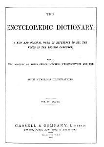 The Encyclopaedic Dictionary Book