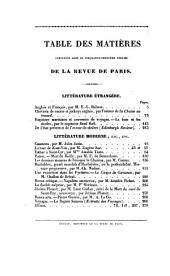 Revue de Paris: Volumes 53 à 54