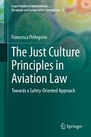The Just Culture Principles in Aviation Law PDF
