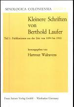 Kleinere Schriften: Publikationen aus der Zeit von 1894 bis 1910. 2 v