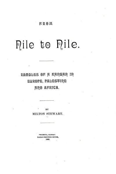 Download From Nile to Nile Book