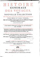 Histoire générale des voyages ou nouvelle collection de toutes les relations de voyages par mer et par terre: Volume5