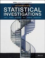 Intermediate Statistical Investigations PDF