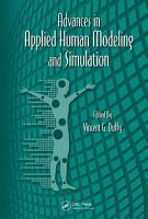 Advances in Applied Human Modeling and Simulation PDF