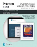 Developing Management Skills Pearson Etext Combo Access Card