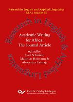 Academic Writing for Africa: The Journal Article