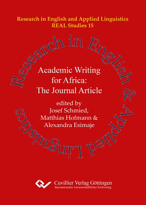 Academic Writing for Africa  The Journal Article