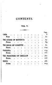 The Works of Lord Byron: Comprising the Suppressed Poems, Volumes 4-5