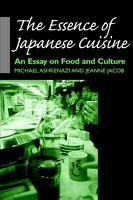 The Essence of Japanese Cuisine PDF