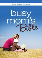 KJV  Busy Mom s Bible  eBook PDF