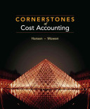 Cornerstones of Cost Accounting PDF